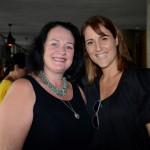 Silvia Luise Hackmann, da Ezlink, e Gisele Abrahão, da GVA