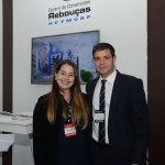 Vania Costa e Leandro Vilela, do Centro de Convenções Rebouças