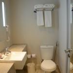 Vista geral do banheiro