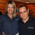 Viviane Fernandes e Fábio Rocha, da Nice Via Apia