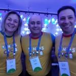 Viviane Pio, Rogério Renê e Richard Andreazza