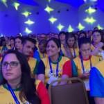 Público durante a abertura da convenção