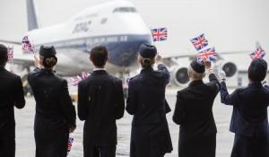 British Airways viaja ao passado ao lançar pintura retrô da BOAC no B747