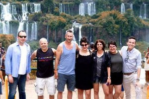 Grupo visita o Parque Nacional do Iguaçu