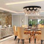 Sala de jantar da Regent Suite