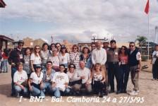 BNT Mercosul celebra 25 anos com exposição fotográfica; veja foto de 1995