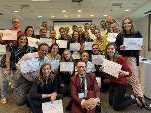 Participantes do programa de capacitação do Pestana Hotel Group