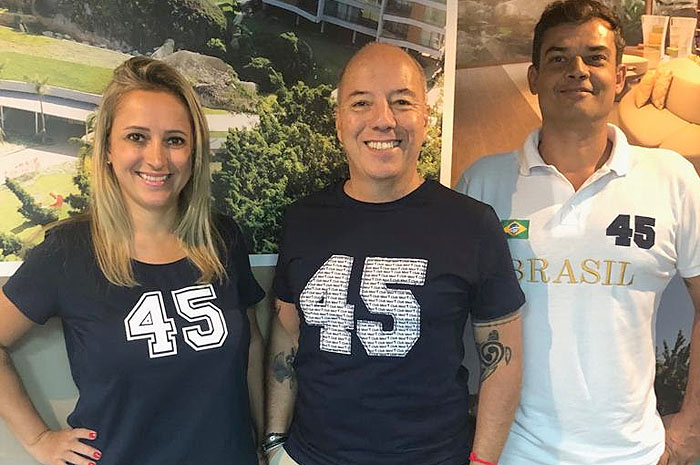 Fernanda Dominicis, Marco Oliva e José Macário