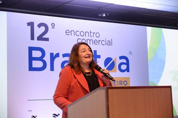 Magda Nassar, presidente da Braztoa.