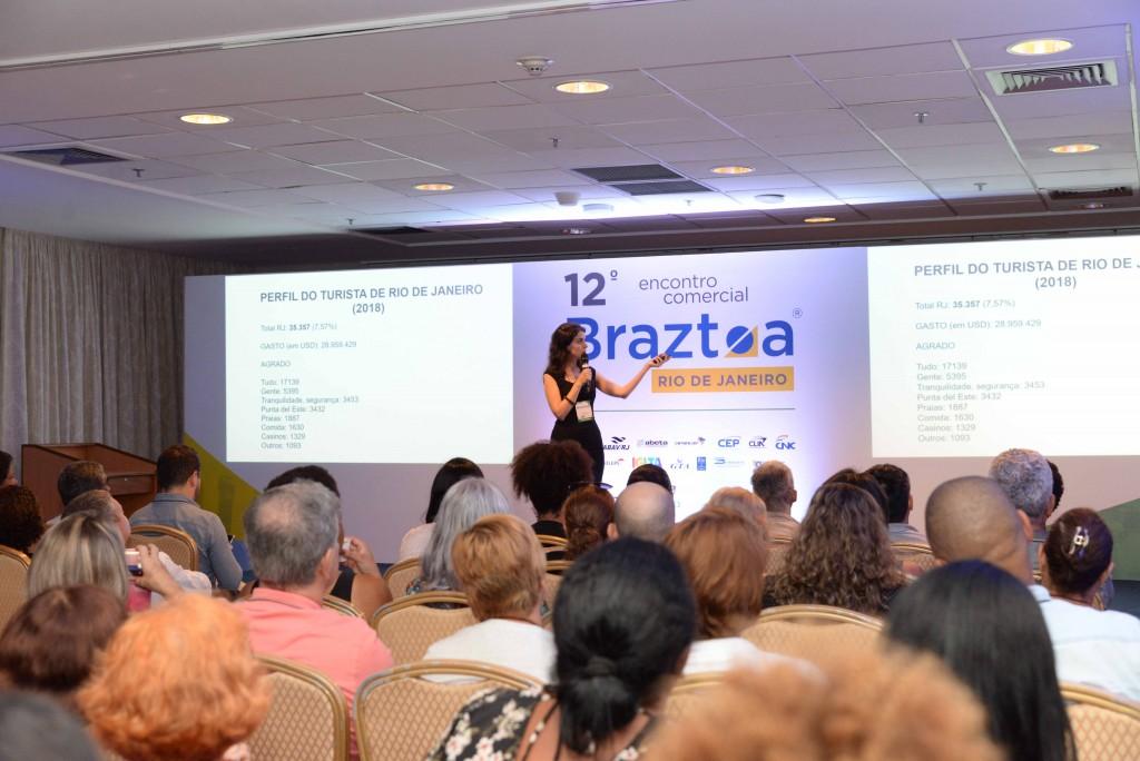 12º Encontro Comerial Braztoa no Rio de Janeiro recebeu 1.782 profissionais.
