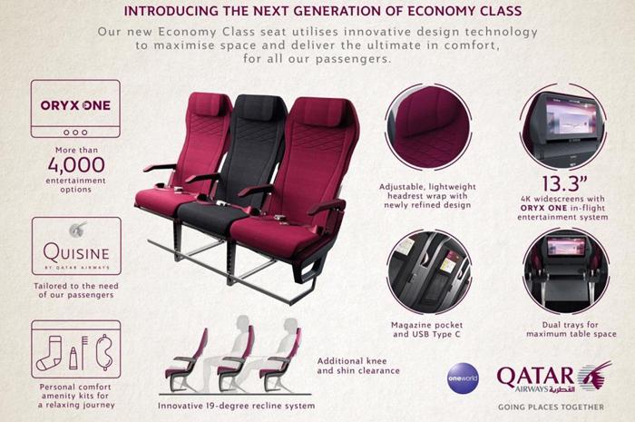 A nova classe executiva da companhia aérea tem inovações tanto nos assentos quanto nos serviços de bordo