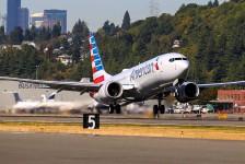 American Airlines é obrigada a cancelar 2,7 mil voos do B737 MAX até abril