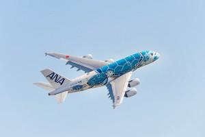 All Nippon Airways recebe seu primeiro A380 com direito a pintura especial
