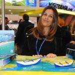 Adriana Balbo, secretária de Turismo de São Sebastião