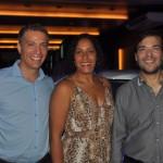 Alexandre Melita, gestor de Produtos, da Azul Viagens no Rio Grande do Norte, Isabela Lessa, gestora comercial da Azul Viagens, e Marcelo Bento, diretor da operadora