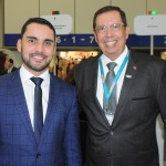 Alisson Andrade, da Embratur, e Benedito Braga, subsecretário de Turismo da Bahia