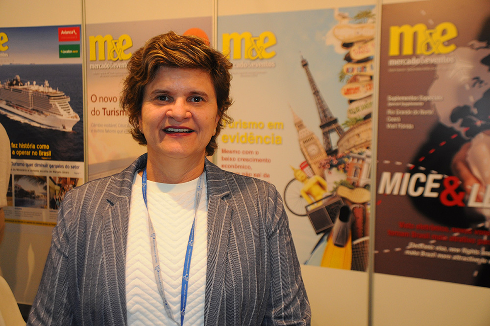 Ana Maria Costa, secretária de Turismo do RN