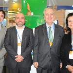 André Dias, do Pará, Hugo Veiga, do Maranhão, Luiz Alberto, embaixador do Brasil em Portugal, e Teté Bezerra, presidente da Embratur