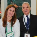 Andrea Revoredo, do RioCVB, e José Geraldo, do Windsor