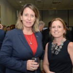 Annie Morrissey, do Bourbon Hotéis & Resorts, e Annette Sulzbacher