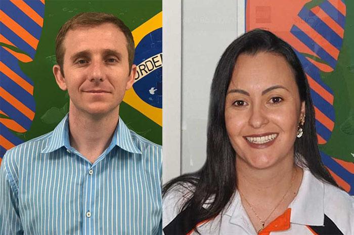 Ari Mapurunga e Carla Biancato, da Flytour MMT