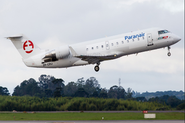 A companhia aérea voo com aeronaves menores, focando principalmente no público corporativo