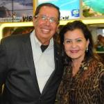 Benedito Braga, subsecretário de Turismo da Bahia, e Teté Bezerra, presidente da Embratur