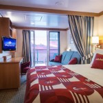Cabine com varanda do Disney Dream