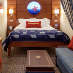 Cabine interna do Disney Dream