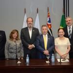 Caio Calfat, Ana Luisa Diniz Cintra, Eduardo Sanovicz, Raul Souza Sulzbacher, Chieko Aoki, e Juan Pablo de Vera