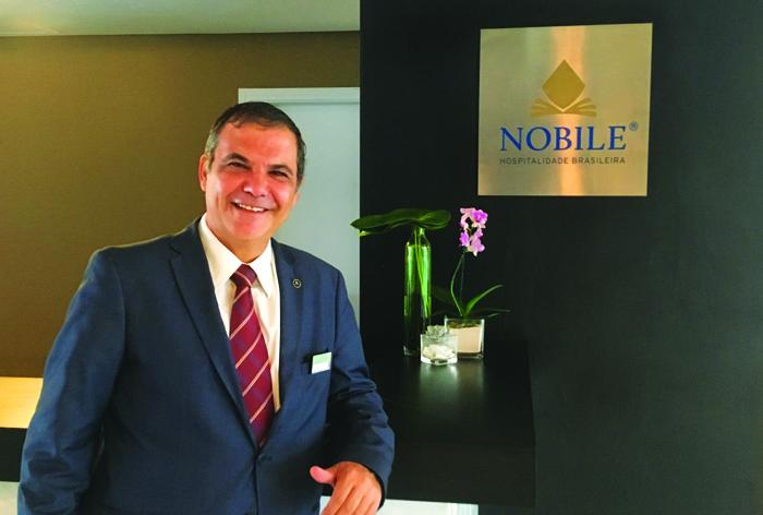 Carlos Nunes, Gerente Geral do Wyndham Garden Convention Nortel