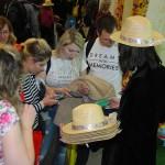 Ceará distribuiu os clássicos chapéus aos visitantes