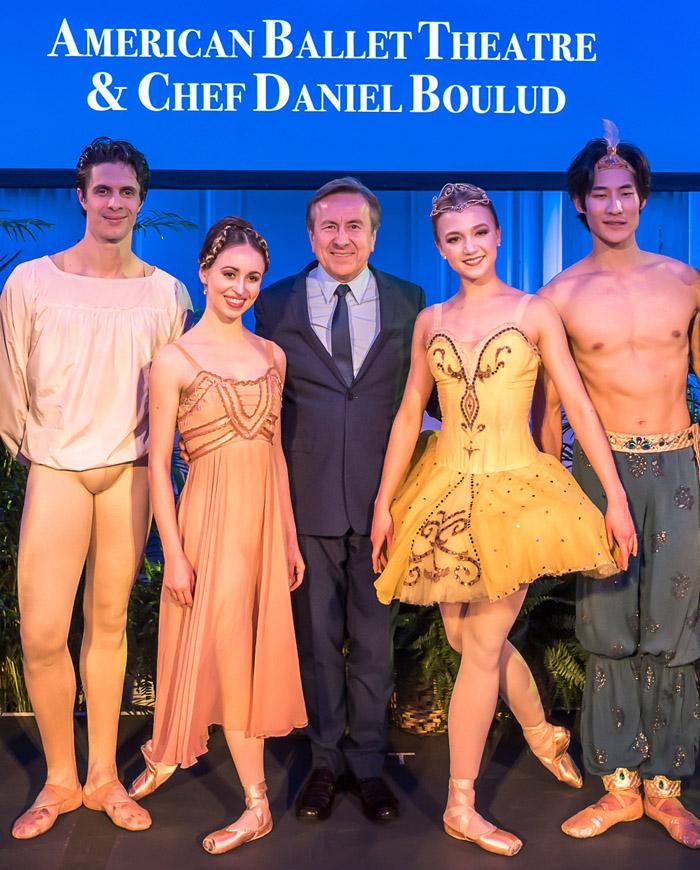 Chef Daniel Buloud e American Ballet Theatre em parceria com Celebrity Cruises