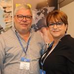 Claudio Bittencourt e Miriam Silva, da CH Travel