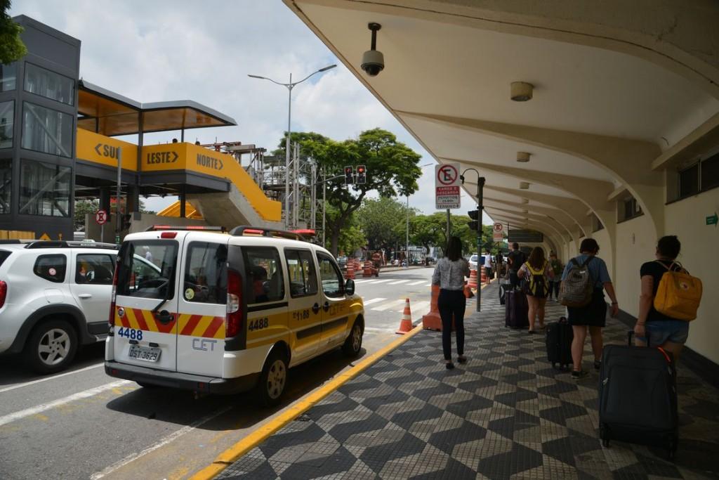 Prefeitura alterou as regras para acesso ao Aeroporto de Congonhas. (Foto: Rovena Rosa/Agência Brasil)