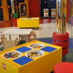 Espaço Lego para as crianças