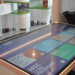 Mesa interativa no doremiland