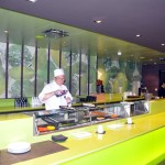 Área externa do Kaito Sushi Bar