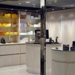 Loja de cosméticos dentro do MSC Aurea SPA