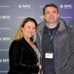 Monica de Sá e Fabio Tavares, da Central Marítima Brasil