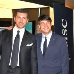 Achille Staiano, diretor Global de Vendas da MSC, e Ignacio Hidalgo, diretor Comercial da MSC Brasil