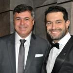 Kleber Silva da Abreutur ao lado de Bruno Cordaro da MSC