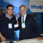 Dante Campos, da Braztoa, e Ricardo Fazzini, secretário de Turismo de Ilhabela
