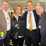 Davide Calicchia, da TAP, Vania Mendes e Claudio del Bianco, da Del Bianco, e Paolo Zoconalli, da TAP