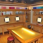 Disney's Oceaneer Lab também conta com um espaço de desenho