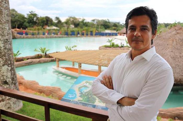 Eduy de Azevedo, diretor geral de Hotelaria Mabu Hotéis e Resorts