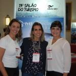 Emilia Rosati, Juliana Tamae e Tatiane Martins, da E-HTL