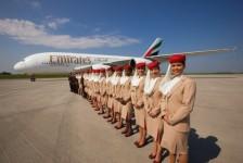 Emirates seleciona comissários em São Paulo