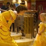 Encontros com as princesas e outros personagens fazem parte da rotina do navio