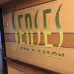 Entrada do Senses Spa, que conta com serviços de massagem, manicure, sauna e hidromassagem